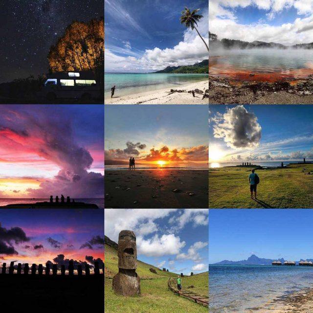 Illa de Pasqua Tahit i Nova Zelanda a les 9hellip