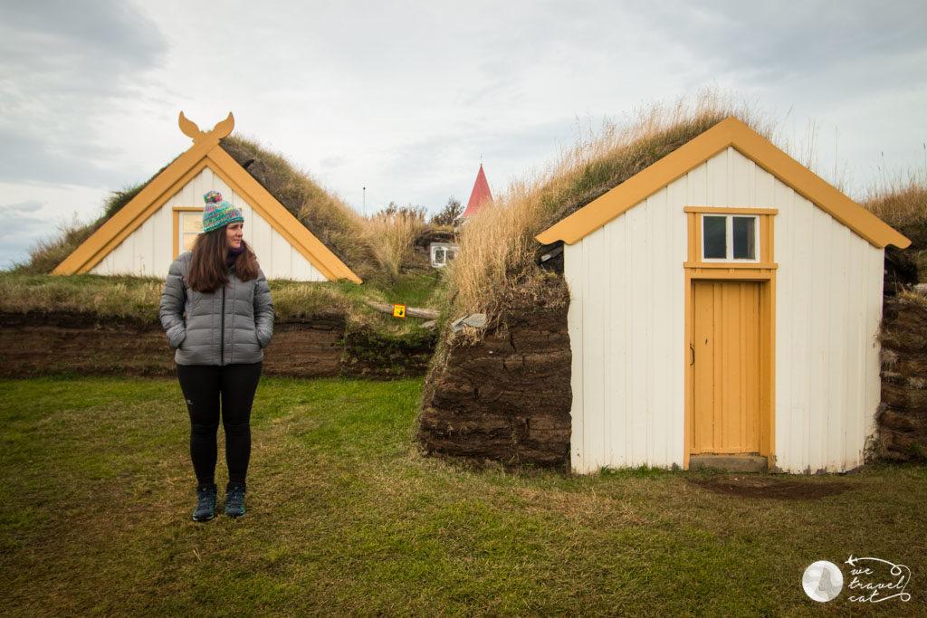 Glaumbaer, les típiques cases islandeses amb herba a sobre