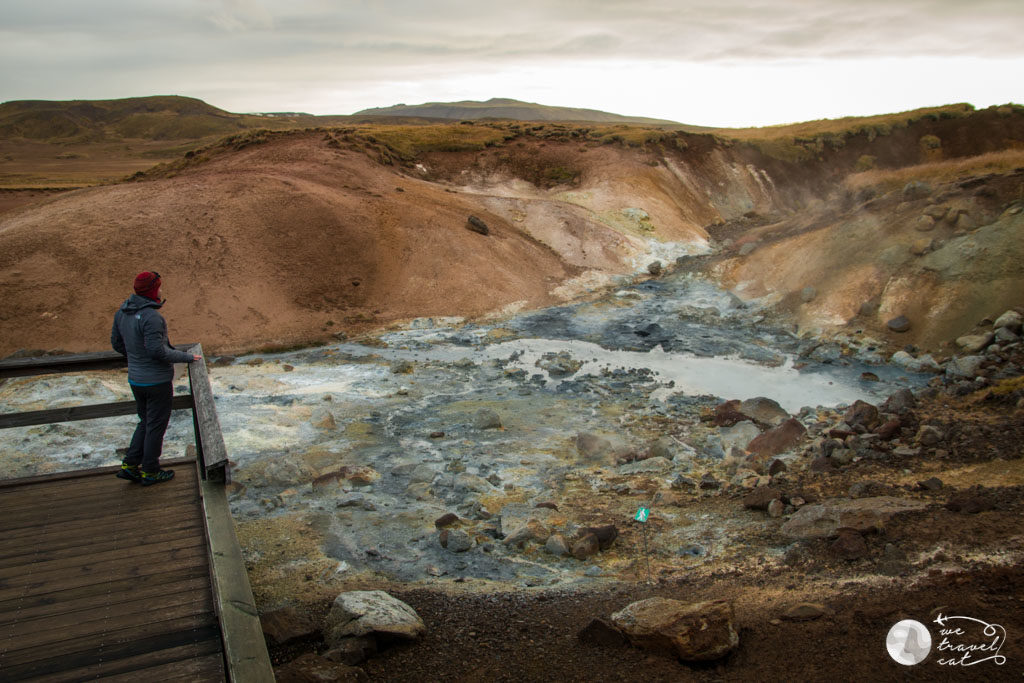Krysuvik, la zona geotermal del sud de Reykjavik