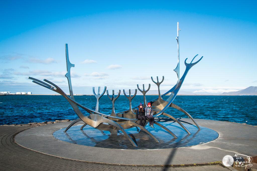 Sun Voyager, l'escultura més famosa de Reykjavik, primera parada de la ruta de 10 dies per Islàndia