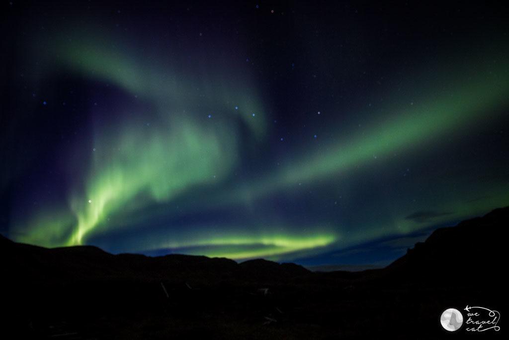 Veure aurores boreals, un dels somnis complerts de la ruta de 10 dies per Islàndia