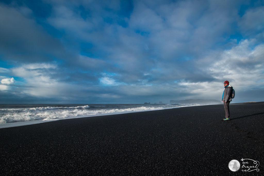 Vik, la platja de sorra negra d'Islandia