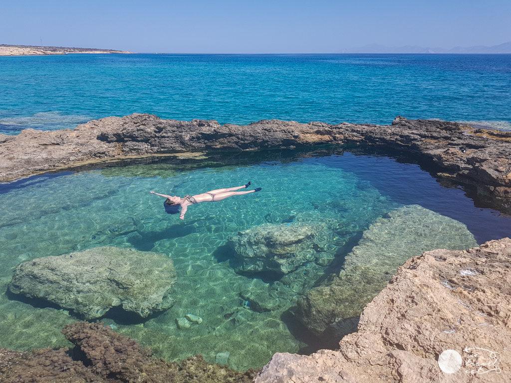 Què fer a Koufonisia: piscines naturals - wetravel.cat