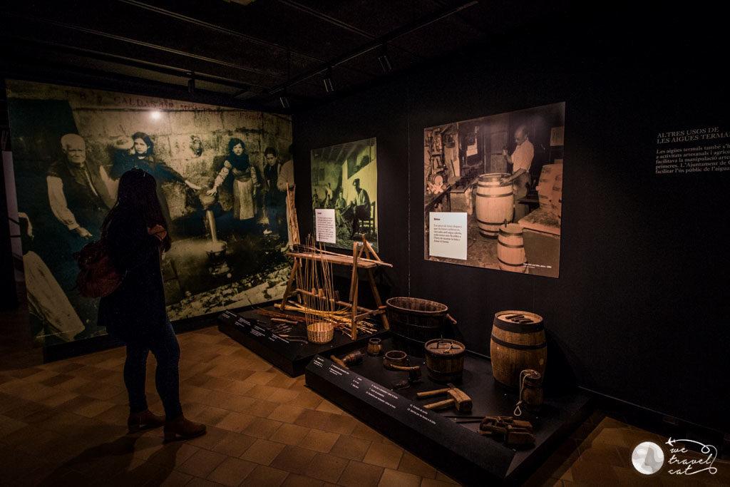El museu Thermalia explica l'origen de l'aigua termal