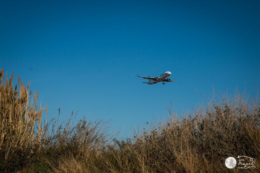 Els avions sobrevolen la ruta pels espais naturals del riu Llobregat
