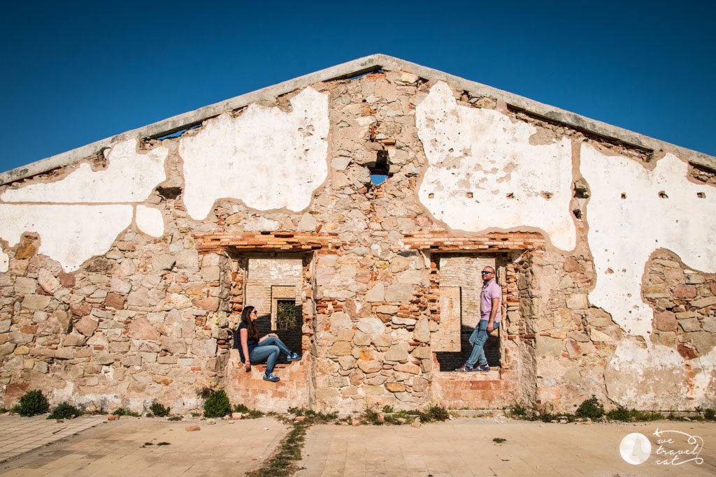 L'antiga caserna dels Carrabiners, un must a la ruta pels espais naturals del riu Llobregat