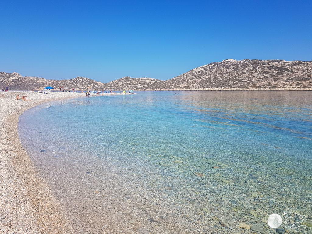 Agios Pavlos, una de les platges per veure a Amorgos -wetravelcat