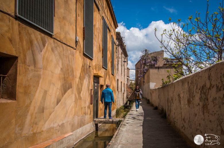 El barri del Rec, un dels imprescindibles d'Igualada - wetravel.cat