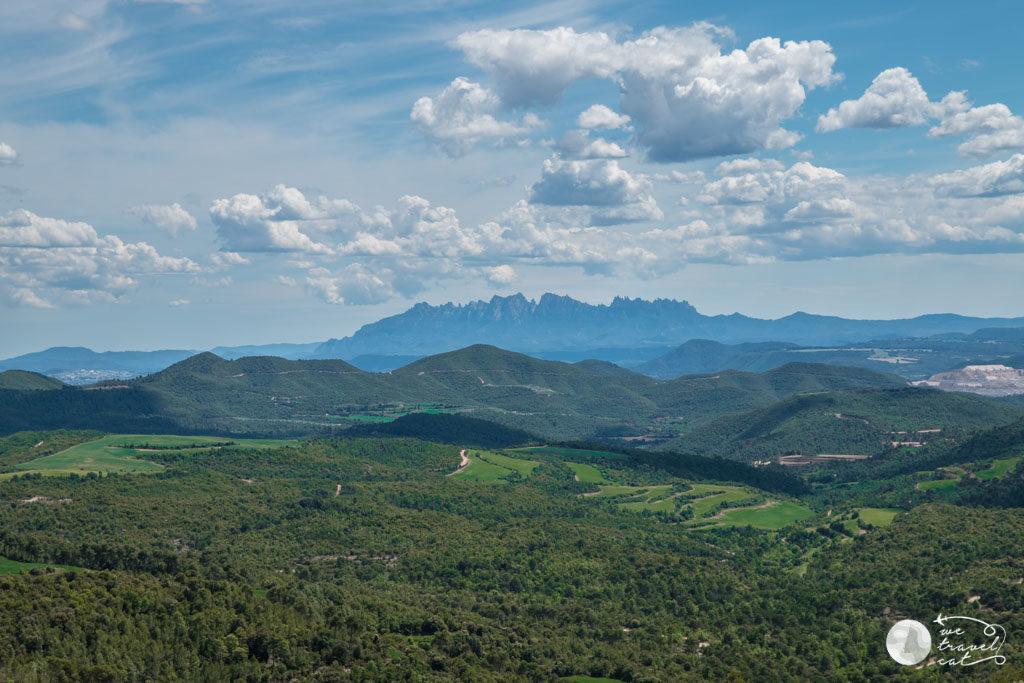 Les vistes de Montserrat des de Casatelladral - wetravel.cat
