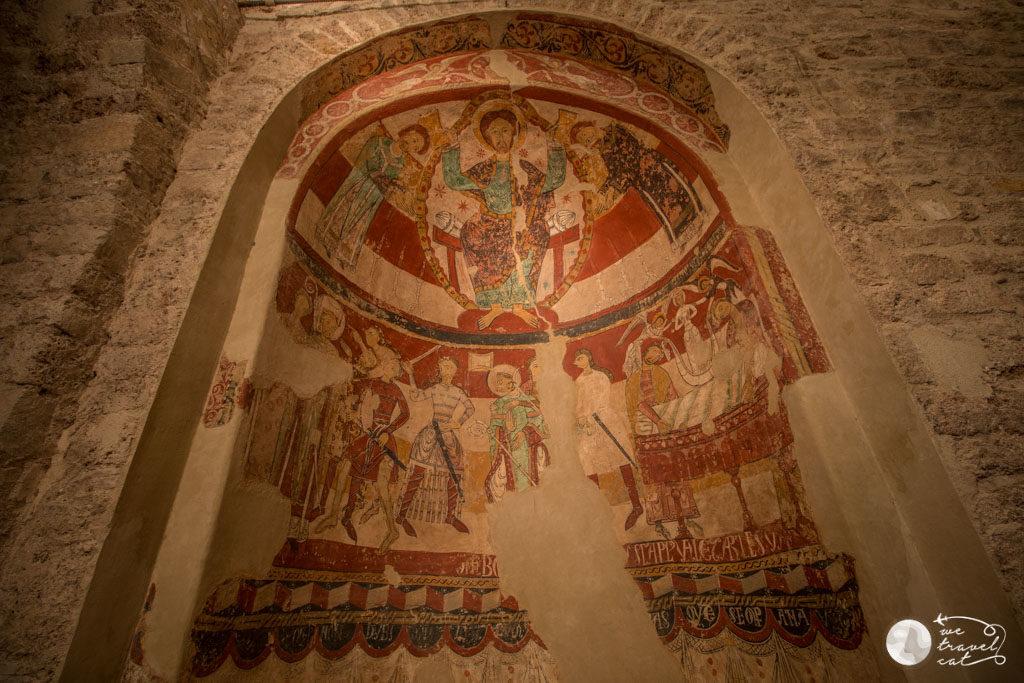 Pintures de Santa Maria a la Seu d'Ègara - wetravel.cat