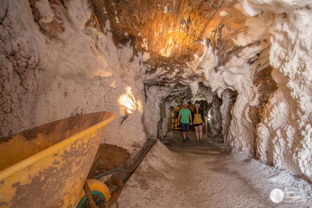 Interior de les mines de sal de Cardona - wetravel.cat