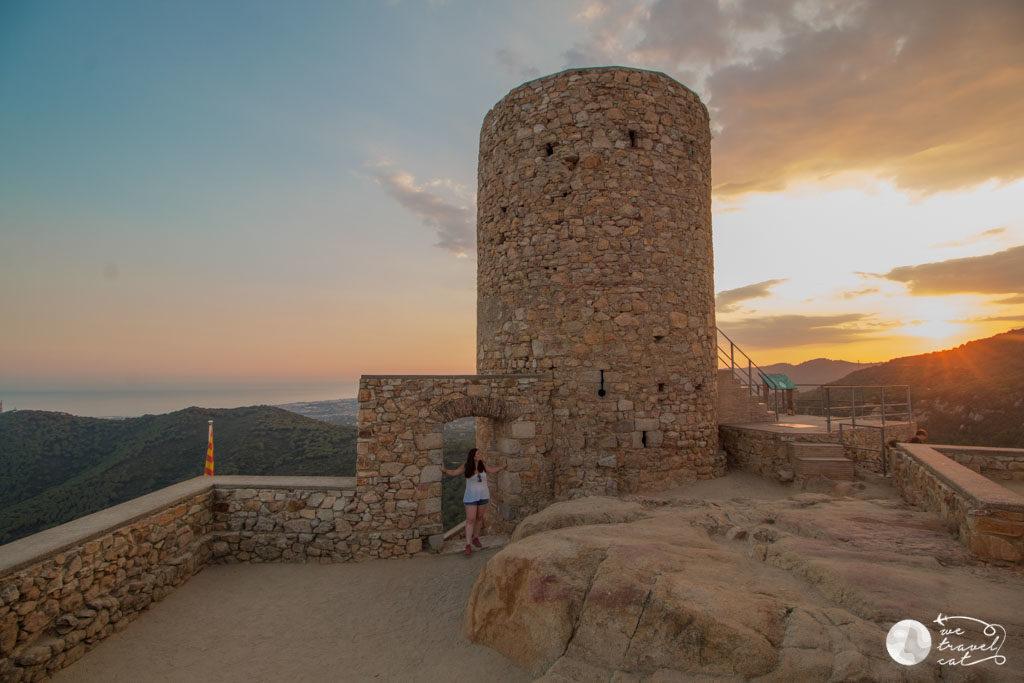 El castell de Burriac - wetravel.cat